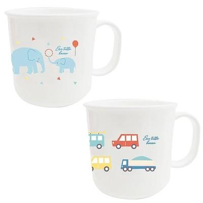 マグカップ コップ キッズ プラスチック primal designs プライマルデザイン プラスチックマグ 【袋ラッピング対応】