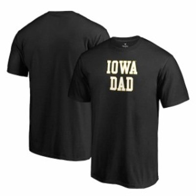 Fanatics Branded ファナティクス ブランド スポーツ用品  Fanatics Branded Iowa Hawkeyes Black Team Dad Crewneck T-Shirt
