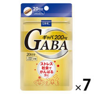 DHCDHC ギャバ GABA 20日分 ×7袋セット ストレス対策・カルシウム・亜鉛 ディーエイチシーサプリメント 健康食品