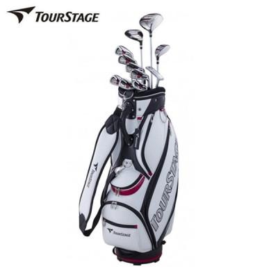 ツアーステージ TOURSTAGE ゴルフ セットクラブ メンズ TOURSTAGE V002 キャディバッグ付11本セット T/S V002 M-SET 2x7+UT+PT+CB