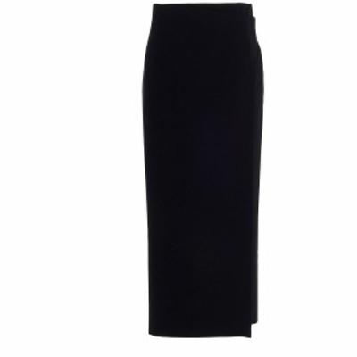 BALENCIAGA/バレンシアガ Black   Wool midi skirt レディース 秋冬2020 642177TJT211000 ju