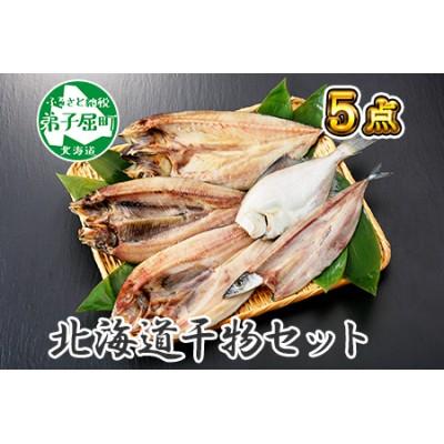 ふっくらやわらか 干物 5点セット 真ホッケ サンマ カレイ ニシン サバ 北海道 魚介 海鮮