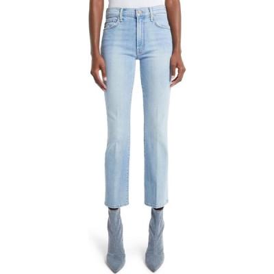 マザー MOTHER レディース ジーンズ・デニム ブーツカット ボトムス・パンツ The Insider High Waist Ankle Bootcut Jeans Zapped