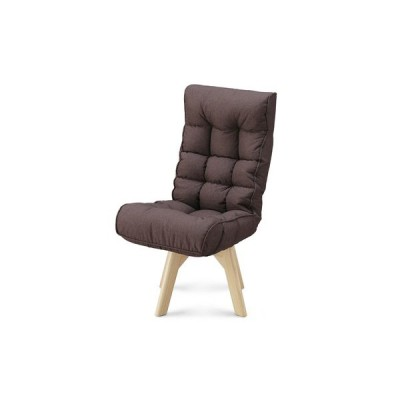 アイリスオーヤマ 回転ファブリックチェア FAC-K ブラウン 椅子 おしゃれ オフィスチェア デスクチェア