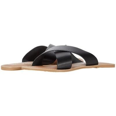 Matisse Pebble レディース サンダル Black Leather
