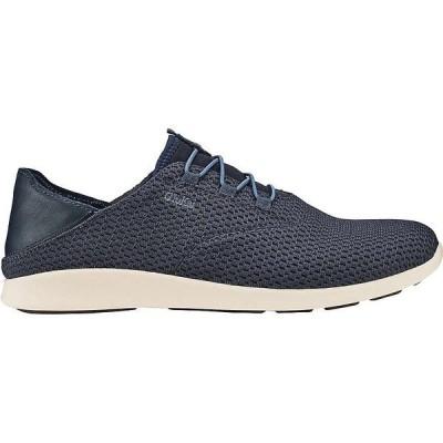 オルカイ スニーカー メンズ シューズ Olukai Men's 'Alapa Li Shoe Trench Blue/trench Blue