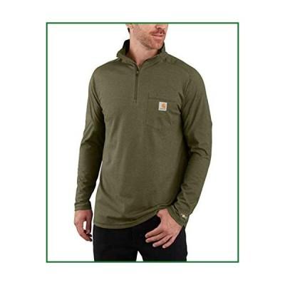Carhartt メンズ フォースリラックスフィット 長袖 クォータージップポケットTシャツ US サイズ: 3X-Large カ