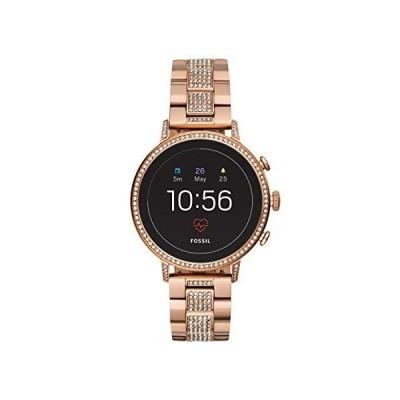 [女性用腕時計]Fossil Womens Smartwatch with Stainless Steel Strap FTW6011