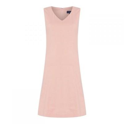 ガント Gant レディース ワンピース ワンピース・ドレス Linen Dress ROSE