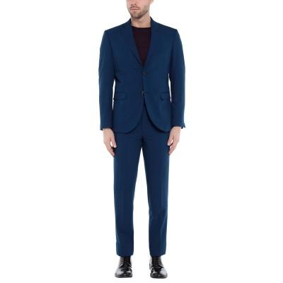 MARTIN ZELO スーツ ダークブルー 50 ウール 65% / レーヨン 30% / ポリウレタン 5% スーツ