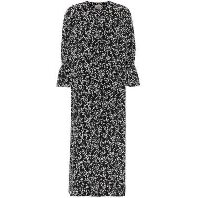 バウム ウンド ヘルガーデン Baum und Pferdgarten レディース ワンピース マキシ丈 ワンピース・ドレス Adessa floral maxi dress Black Ditsy Floral