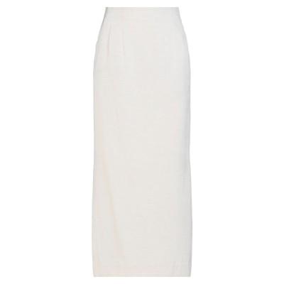 LE 17 SEPTEMBRE ロングスカート アイボリー 36 コットン 55% / リネン 45% ロングスカート