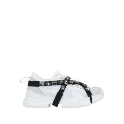 DIVINE FOLLIE レディース スニーカー シューズ 靴 ホワイト