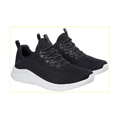 【並行輸入品】Skechers Ladies' UltraFlex Bungee Slip On Shoes (Black,6)