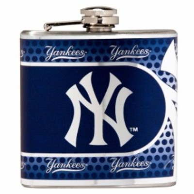 Great American Products ゲット アメリカン プロダクツ スポーツ用品  New York Yankees Silver 6oz. Stainless Ste