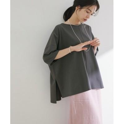 ROPE' / サイドスリットワイドTシャツ WOMEN トップス > Tシャツ/カットソー