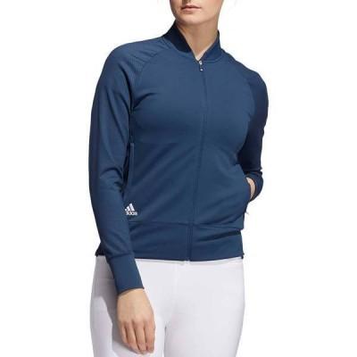 アディダス レディース ジャケット・ブルゾン アウター adidas Women's Perforated Full Zip Jacket