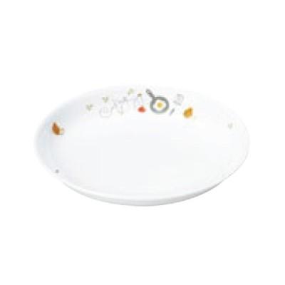 リ・おぎそ 子ども食器シリーズ 皿 17.2cm 1148-1240 高さ25(mm)/業務用/新品