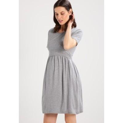 アンヴィ ド フレーズ レディース ワンピース トップス LIMBO - Jersey dress - grey melange grey melange