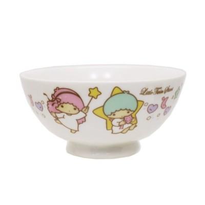 お茶碗 リトルツインスターズ キキ&ララ 磁器製 ライスボウル スタードリーム サンリオ 金正陶器 日本製