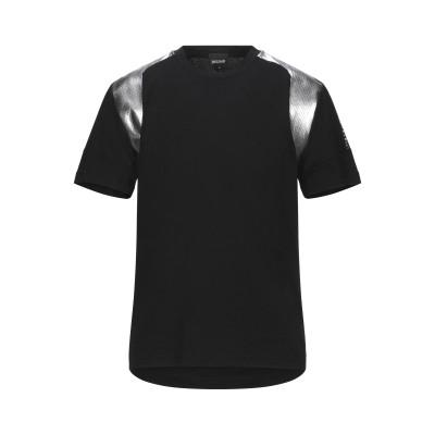 ジャストカヴァリ JUST CAVALLI T シャツ ブラック XXL コットン 100% / ポリエステル T シャツ