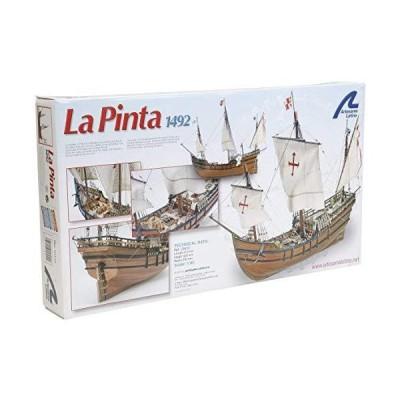 全国送料無料!Artesania Latina 22412 la Pinta Caravel Wooden 1/65 Model Ship Complete kit