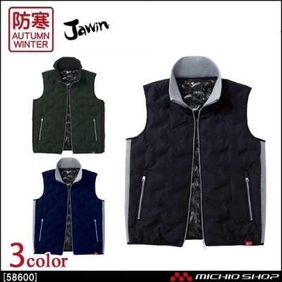 防寒服 Jawin ジャウィン 防寒ベスト 58610 自重堂 作業服