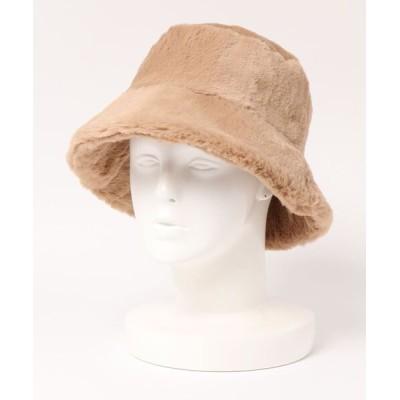 BASE / ファーバケットハット WOMEN 帽子 > ハット