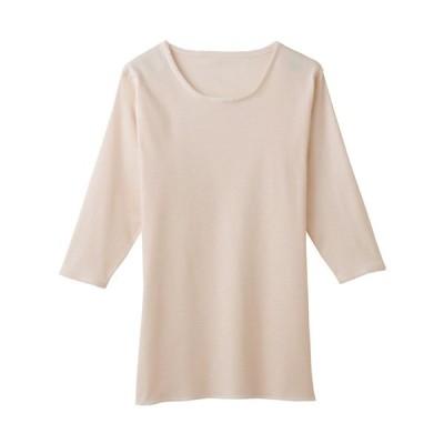 グンゼ 肌着 レディース 丸型7分袖スリーマー 年間 快適工房 綿100% 長袖 コットン 下着 婦人肌着 女性肌着 天然素材 GUNZE KH5047 M-L