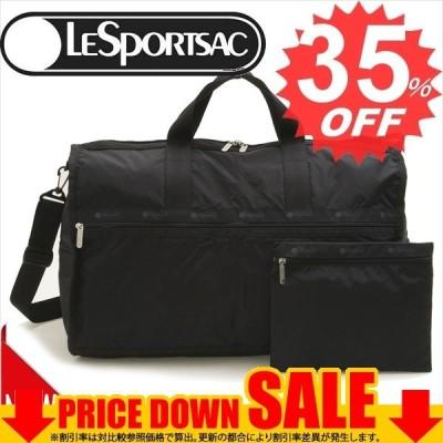 レスポートサック バッグ ボストンバッグ LESPORTSAC large weekender 7185  5982 BLACK    比較対照価格18,700 円