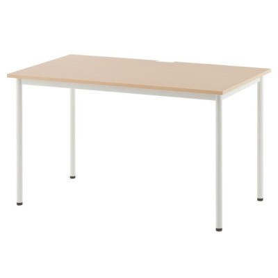 SHシンプルテーブル W1200xD700 ナチュラル SHST-1270NA  アール・エフ・ヤマカワ