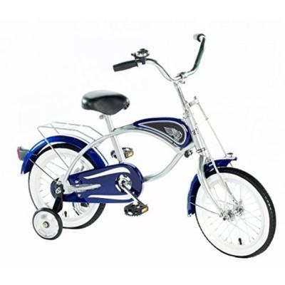 """乗り物おもちゃ Morgan Cycle 14"""" Cruiser Bicycle with Training Wheels, Blue"""