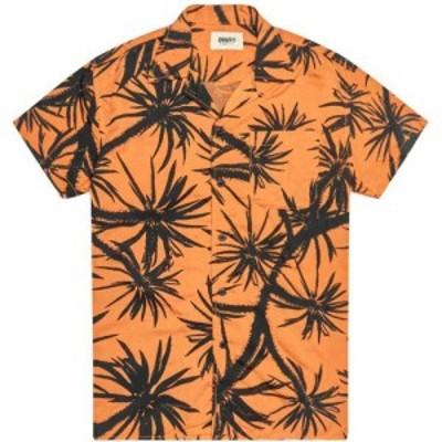 デウス エクス マキナ Deus Ex Machina メンズ 半袖シャツ トップス dean centennial short sleeve shirt Sun Orange