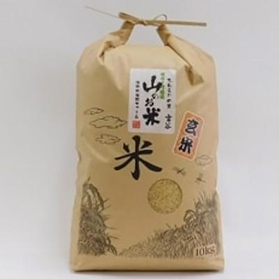 大わらじの里 宮谷 山のお米 玄米【10kg】