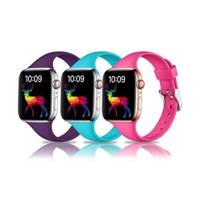 Laffav Apple Watch用バンド 44mm 42mm iWatch SE & Series 6 & Series 5 4 3 2 1に対応