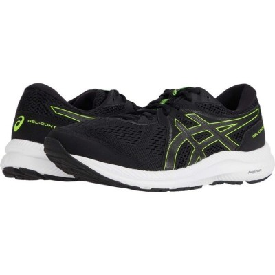 アシックス ASICS メンズ ランニング・ウォーキング シューズ・靴 GEL-Contend 7 Black/Hazard Green