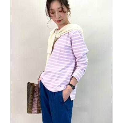 (FREDY REPIT/フレディレピ)OEバスクシャツ/レディース レッド・ピンク系3