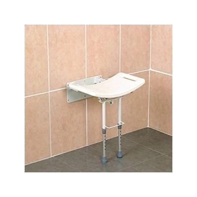 特別価格Homecraft Wall-Mounted Steel Shower Chair, Folding Shower Seat with Rubber 好評販売中