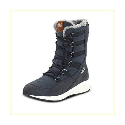 【並行輸入品】Jack Wolfskin Women's Nevada Texapore High W Snow Boot, Dark Blue/Off-White, 10