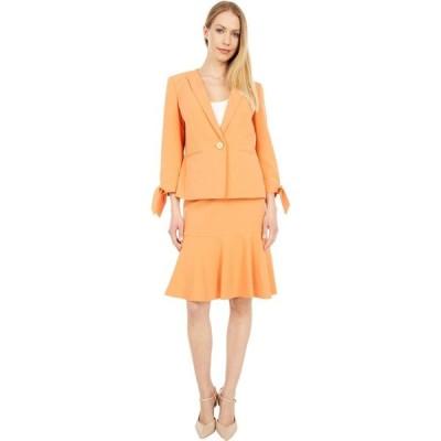 ル スーツ Le Suit レディース スーツ・ジャケット スカートスーツ アウター Jacket/Skirt Suit Set Apricot