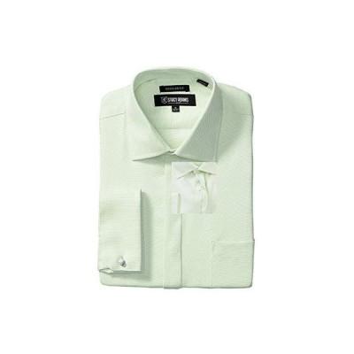Stacy Adams Big & Tall Textured Solid Dress Shirt メンズ シャツ トップス Green