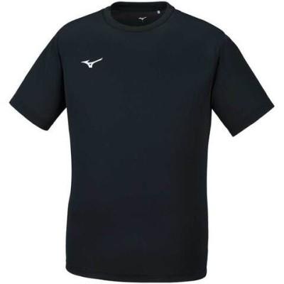ミズノ ナビドライ Tシャツ(ブラック×ホワイト・サイズ:XL) mizuno NAVIDRY 半袖 丸首 32MA1190-09-XL 【返品種別A】