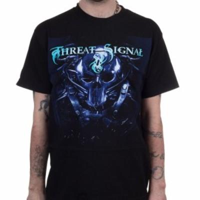 スレット シグナル Threat Signal メンズ Tシャツ トップス Machine Black