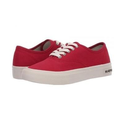 SeaVees シービーズ レディース 女性用 シューズ 靴 スニーカー 運動靴 Legend Standard Seasonal - Cherry
