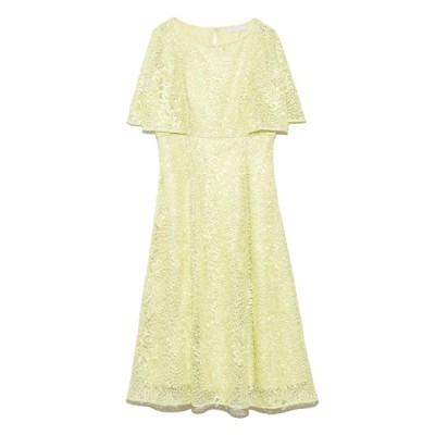 【セルフォード】 スパンコール刺繍ドレス レディース LIME 38 CELFORD
