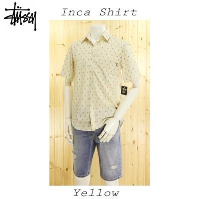 STUSSY/半袖シャツ、111507INCA DOBBIE SHIRT
