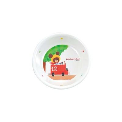 関東プラスチック工業 お子様食器 くまのがっこう 深皿 M-1305J 2477100