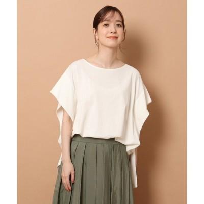 tシャツ Tシャツ 【GLOW6月号掲載】タックドレープジャージプルオーバー