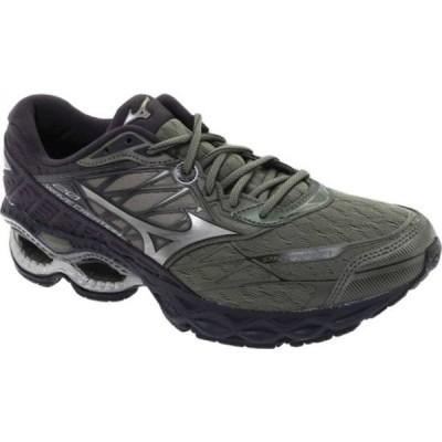 ミズノ スニーカー シューズ メンズ Wave Creation 20 Running Shoe (Men's) Beetle/Metallic Shadow
