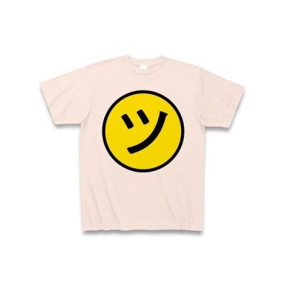 ニコ「ツ」ちゃんマーク Tシャツ(ライトピンク)